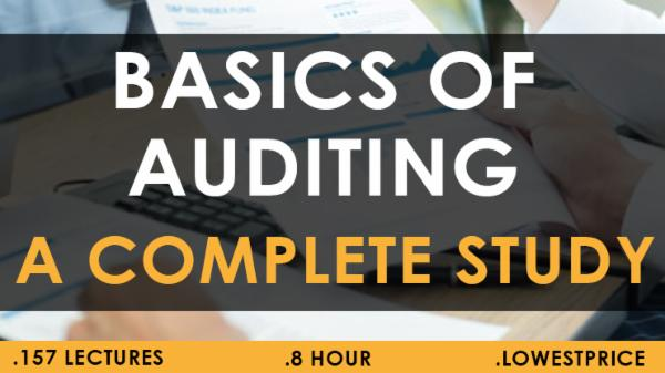 Basics of Auditing A Complete study Copy 1 month cover