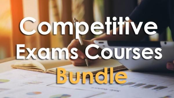 Competitive Exams Courses Bundle cover