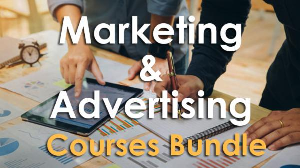Marketing & Advertising Courses Bundle cover