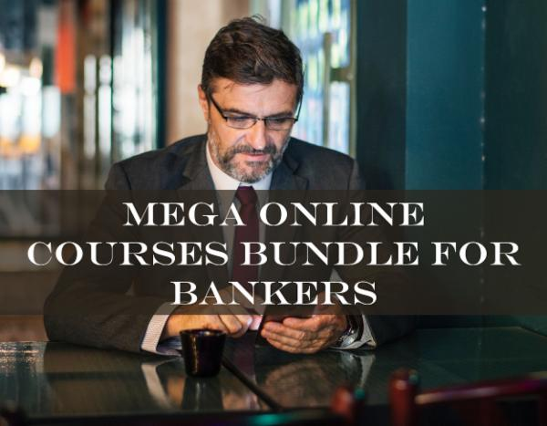 Mega Online Courses Bundle for Bankers cover