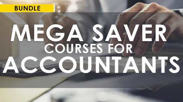 Mega Saver Courses Bundle for Accountants cover