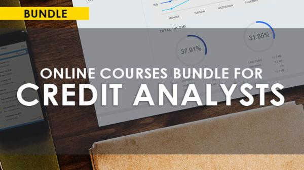 ONLINE COURSES BUNDLE FOR CREDIT ANALYSTS cover