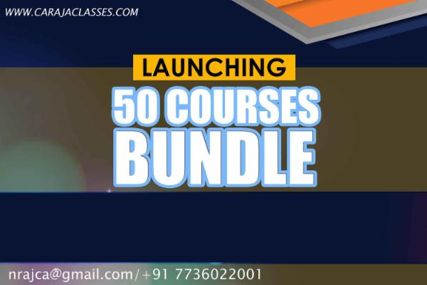 50 Financial Courses Bundle cover