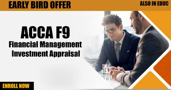 ACCA F9 Financial Management - Investment Appraisal cover