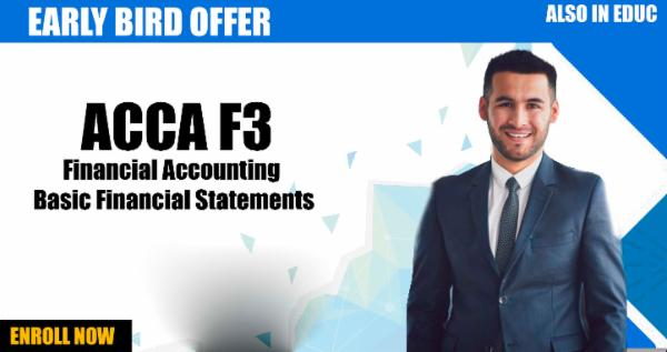 ACCA F3 Financial Accounting - Basic Financial Statements cover