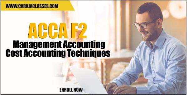 ACCA F2 Management Accounting - Cost Accounting Techniques cover