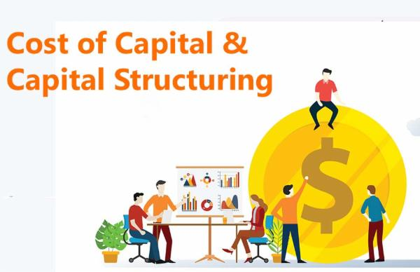 Cost of Capital & Capital Structuring cover