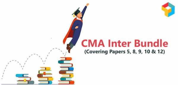 CMA Inter Bundle (Covering Papers 5, 8, 9, 10 & 12) cover